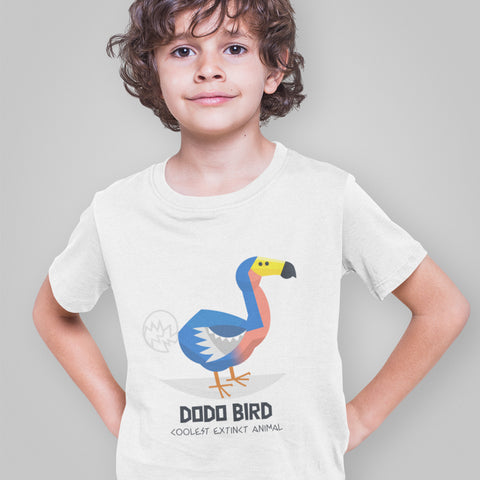 Kids Boys Bird Logo T-Shirt