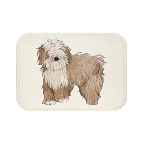 Happy Puppy Bath Mat