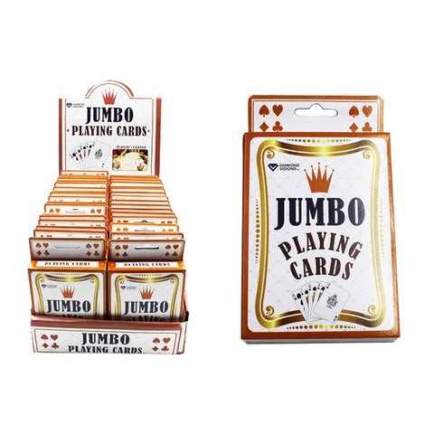 Jumbo Playing Cards Case Pack 36