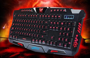 Ninja Dragons Z2X 3 Colors LED Backlight Gaming Keyboard