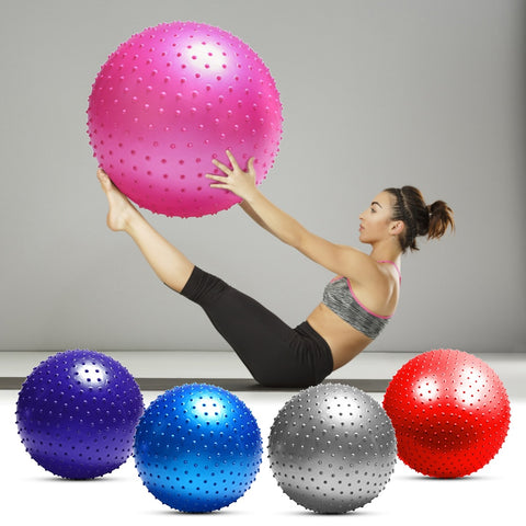 Anti Bust Fitness Massage Large Size Yoga Ball with Air Pump