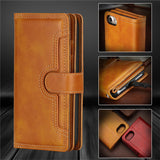 Premium Vegan Leather Wallet Case for iPhone and Samsung Phones