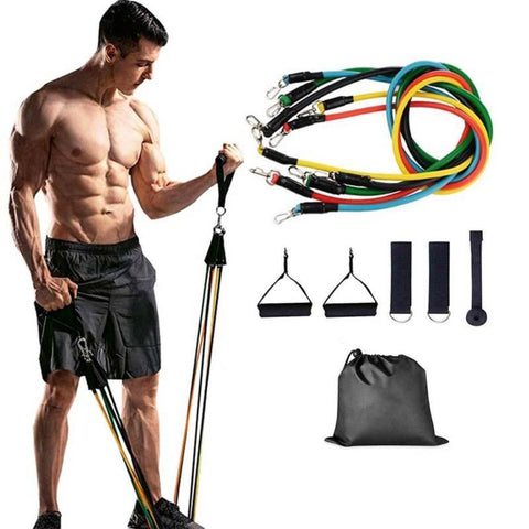 Home Gym 11 PCS Fitness Resistance Band