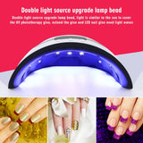 Acrylic Gel UV LED Nail Curing Lamp