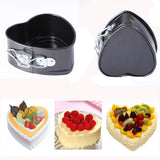 Non-Stick Love Heart Shape Cake Mold 3 pcs set