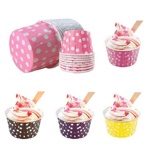 Wholesale  High Temperature Resistant Baking Cakes  Cups 200 pcs