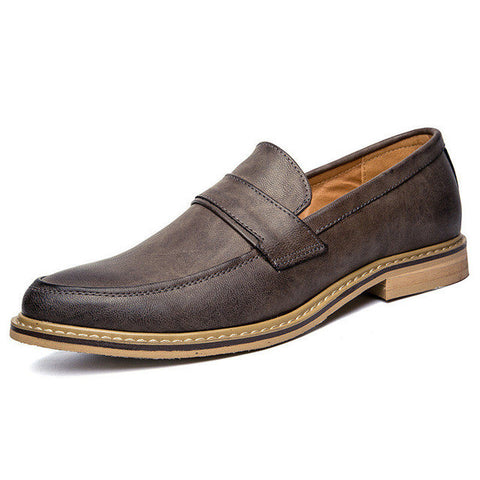 Mens Business Casual Everyday Wear Slip On Shoes