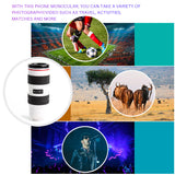 8X HD Optical Zoom Smartphone Lens with Universal Mobile Phone Clip