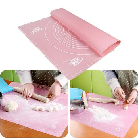 Silicone Mat with Scale Non-Stick Baking Tools (4 pcs set )