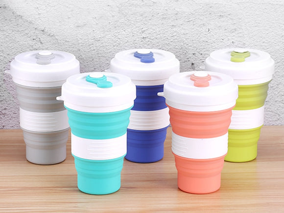 Creative Expandable Silicone Travel Coffee Cup