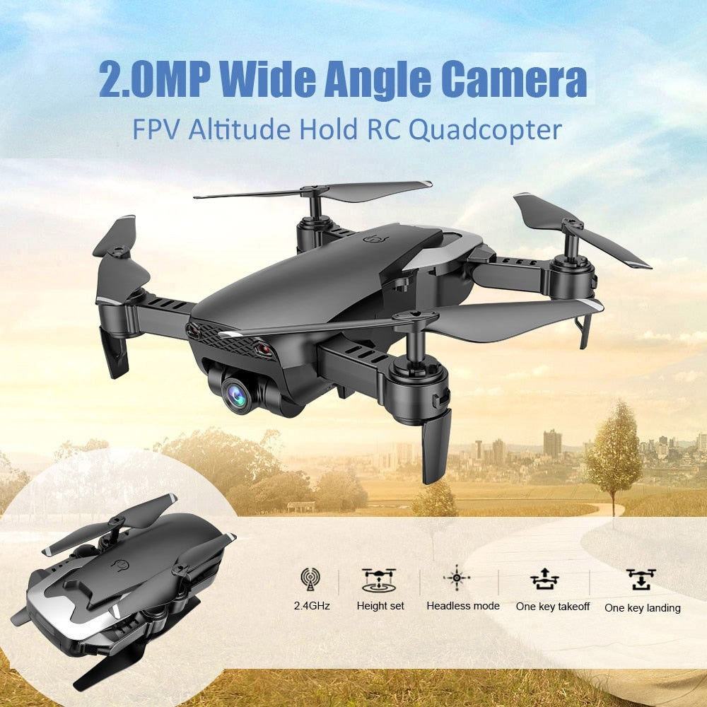 Foldable Pocket Size RC Quadcopter X12 Drone with 720P Wide Angle HD Camera