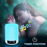 Touch Control Colorful LED Heavy Bass Wireless Bluetooth Speaker