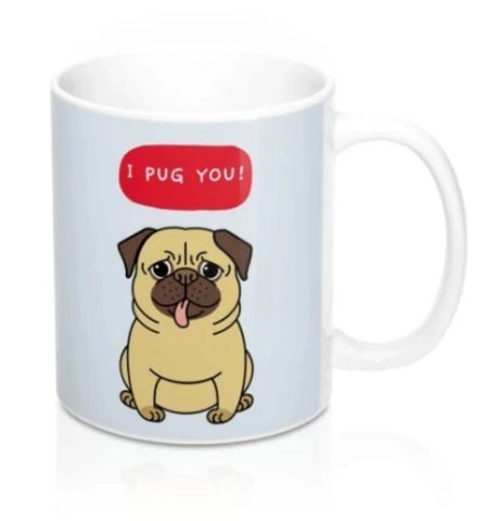 I PUG You Puppy Heat Sensitive Color Changing Mug