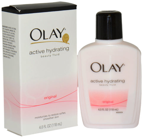 Women Olay Active Hydrating Beauty Fluid Original Moisturizer Value Pack 3 units