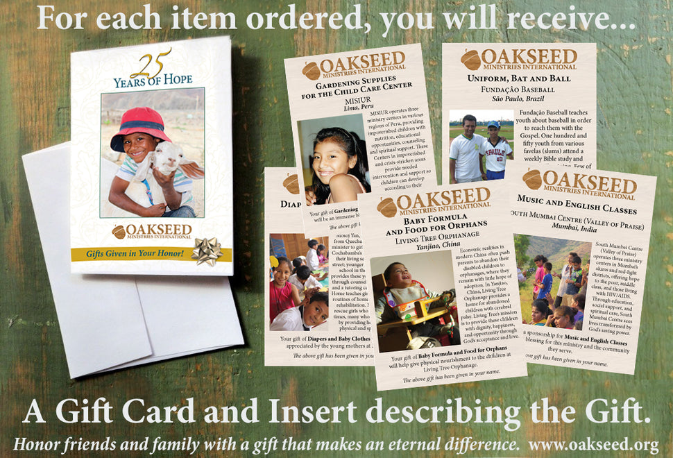 Oakseed Bazaar Catalog