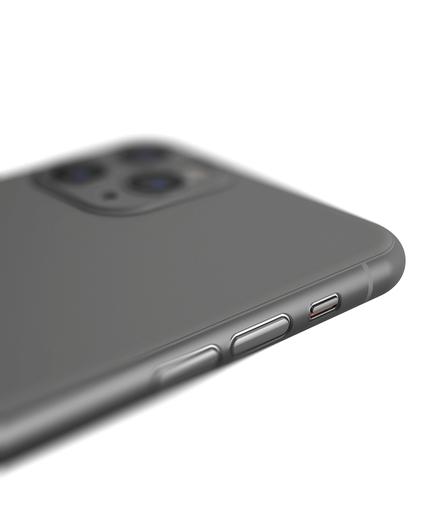 Angled view of Mason super thin phone case