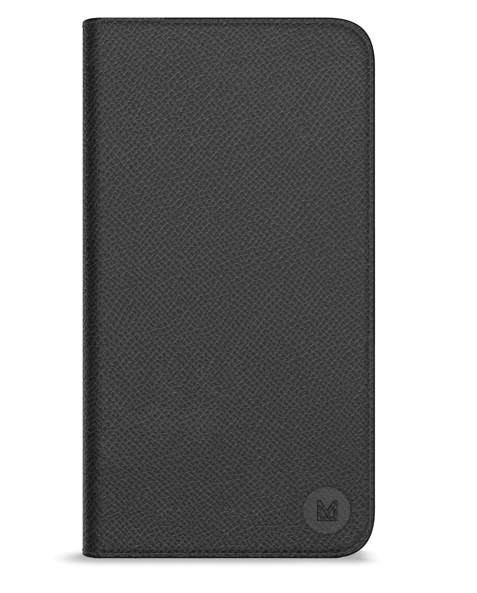 Closed view of Mason leather folio phone case