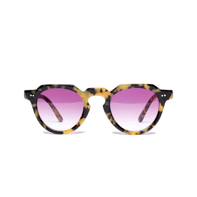 Capri Brown Tortoise / Pink
