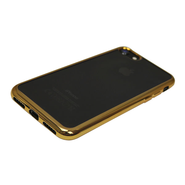 Transparenter iPhone Case mit Gold-Ränder