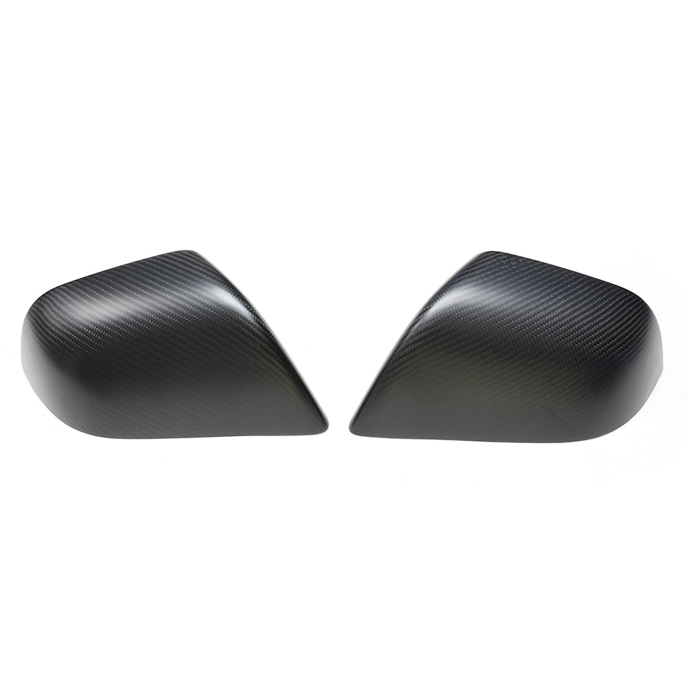 Model 3 Carbon Fiber Side Mirror Covers