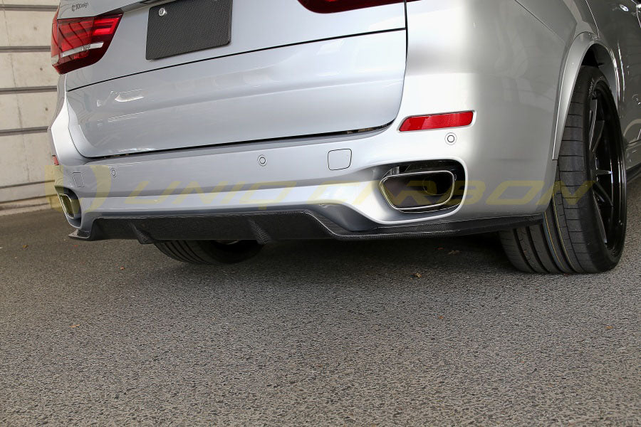 BMW F15 X5 3D Style Carbon Diffuser