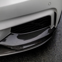 BMW F32 F33 F36 Performance Style Carbon Front Lip