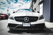 CLS63 Facelift Model W218 Carbon Fiber BRS Front Lip
