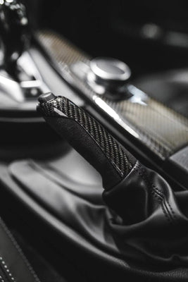 BMW M Carbon Fiber Alcantara E-Brake Handle