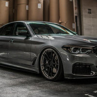 G30 BMW MP Style Carbon Fiber Side Skirt Extensions