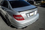 Mercedes W204 Sedan Carbon Fiber Trunk Spoiler