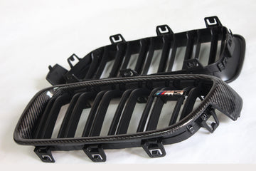 BMW F32 F36 F80 F82 M3 M4 Carbon Fiber Grill replacement