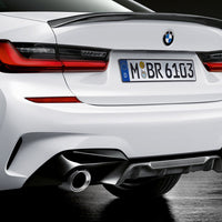 BMW G20 3 Series MP Carbon Fiber Diffuser