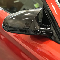 BMW F80 F82 M3 M4 Carbon Full mirror cap Replacements ( Dry Carbon Housing )