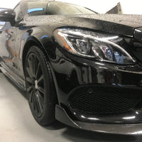 C63S W205 Carbon Side Skirt Extensions