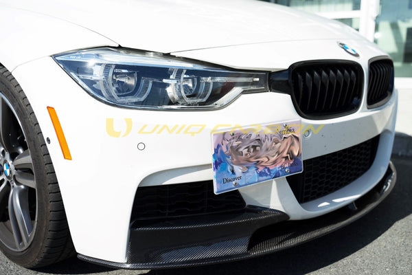 F30 3series M Performance Style Carbon Fiber Front Lip