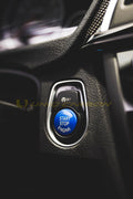 BMW F80 F82 M3 M4 (Polar Blue Stop/Start Button)