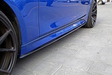 F30 3 Series Carbon Fiber Side Skirt