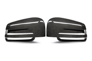 W204 W212 W218 Carbon Fiber Full Mirror Cover Replacements