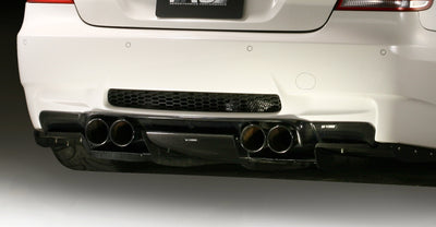 BMW E92 M3 Varis Style Carbon Diffuser (NO UNDERTRAY)