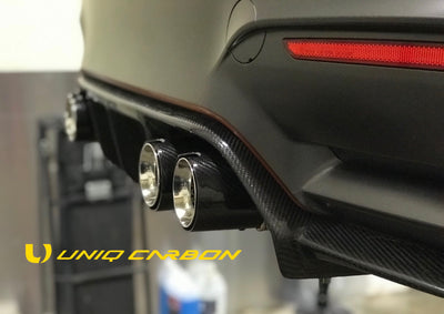 BMW F80 F82 F12 F10 M3 M4 M5 M6 Carbon Fiber Performance Exhaust Tips