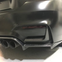 BMW F82 F80 M3 M4 Rear Bumper Carbon Splitter