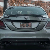 Mercedes W205 RS Style Carbon Fiber Trunk Spoiler