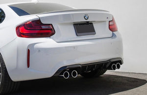 BMW F87 M2 Performance Style Carbon Fiber Diffuser