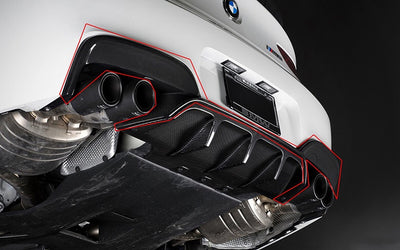 F12 / F13 / F06 M6 Carbon Arkym Style Outer Diffuser