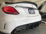 W205 C63S GTS Style Carbon Diffuser