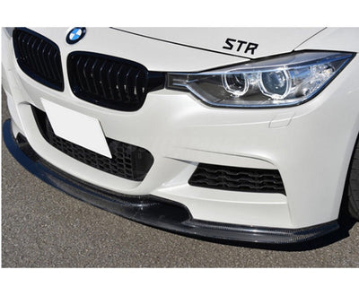 F30 3 Series V Style Carbon Fiber Lip
