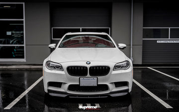 BMW F10 M5 V-Style Carbon Front Lip