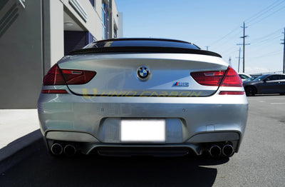 BMW F06 M6 Performance Carbon Fiber Trunk spoiler