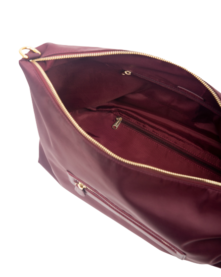 Aimee Travel BiB (Burgundy)