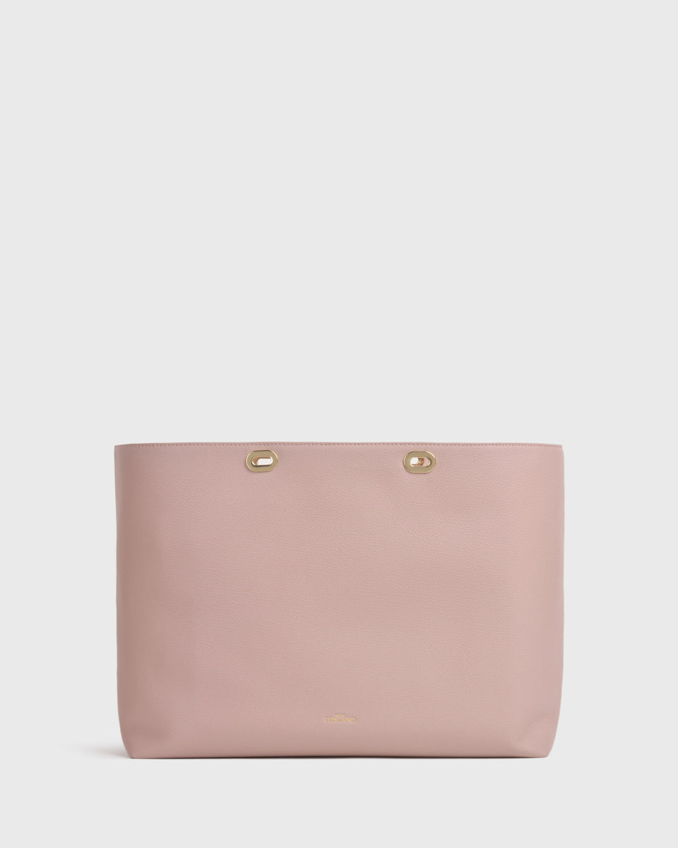 Aimee Work BiB (Dusty Pink)